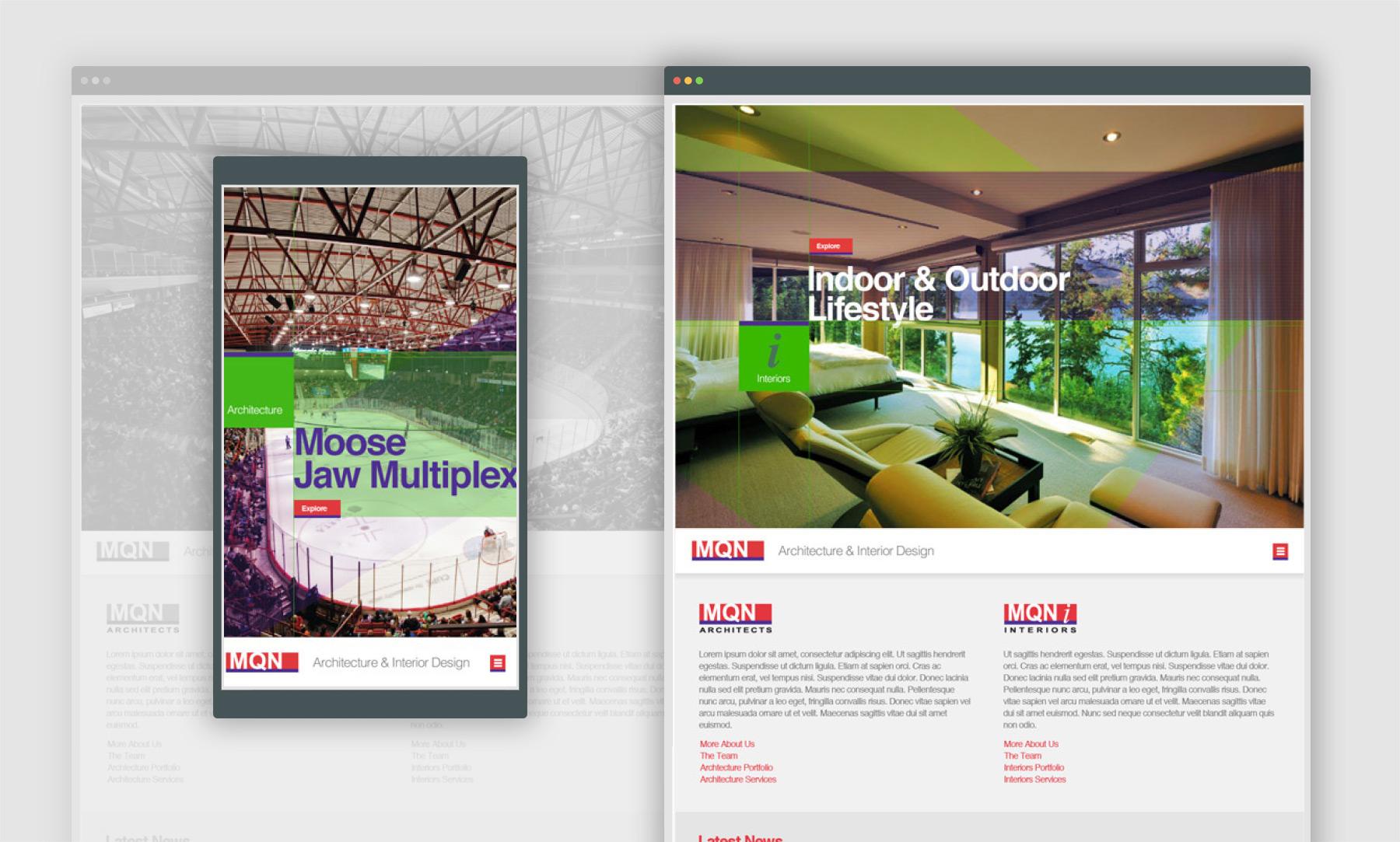 MQN Web design